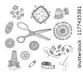 vector illustration of... | Shutterstock .eps vector #1177435381
