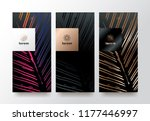 vector set packaging templates... | Shutterstock .eps vector #1177446997
