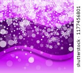 snow window with ultra violet...   Shutterstock .eps vector #1177456801