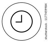 clock vector icon   Shutterstock .eps vector #1177459984