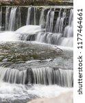 part of aysgarth falls in the... | Shutterstock . vector #1177464661