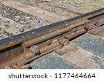 a joint in a little used... | Shutterstock . vector #1177464664