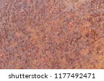texture of rusty iron. aged... | Shutterstock . vector #1177492471