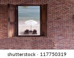 Window And The Beach