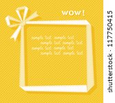 Vector Gift Frame Made From...