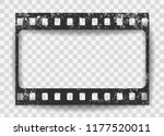 black scratched grunge film... | Shutterstock .eps vector #1177520011