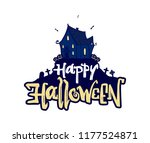 vector illustration  hand drawn ... | Shutterstock .eps vector #1177524871
