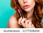 close up cropped half face...   Shutterstock . vector #1177528204