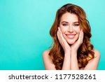 advertising concept. portrait... | Shutterstock . vector #1177528261