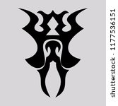 vector ornaments  for tattoo... | Shutterstock .eps vector #1177536151