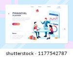 business adviser team.... | Shutterstock . vector #1177542787