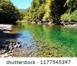 beautiful green lake. argentina   Shutterstock . vector #1177545397