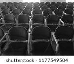 chairs in university classroom... | Shutterstock . vector #1177549504
