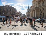 lublin  poland   july 27  2018  ... | Shutterstock . vector #1177556251