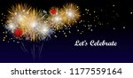 fireworks and let's celebration ...