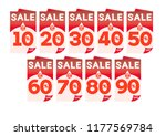 sale up to 10   20   30   40  ... | Shutterstock .eps vector #1177569784
