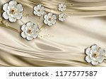 3d wallpaper design with... | Shutterstock . vector #1177577587