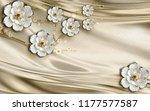 3d wallpaper design with...   Shutterstock . vector #1177577587
