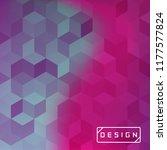 vector bright geometric... | Shutterstock .eps vector #1177577824