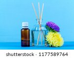 air diffuser  essential and... | Shutterstock . vector #1177589764