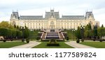 the palace of culture in iasi... | Shutterstock . vector #1177589824