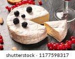 a photo of camembert cheese... | Shutterstock . vector #1177598317