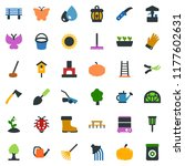 colored vector icon set   well... | Shutterstock .eps vector #1177602631