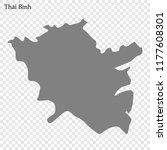 high quality map of thai binh... | Shutterstock .eps vector #1177608301