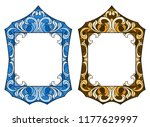 set of illustrations in the... | Shutterstock .eps vector #1177629997