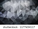 vector background from polygons ... | Shutterstock .eps vector #1177654117