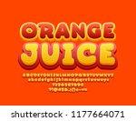 Vector Colorful Sign Orange...
