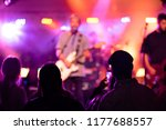 concert crowd and colorful... | Shutterstock . vector #1177688557