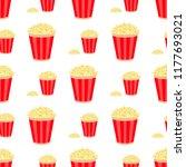 popcorn circus cinema fast food ... | Shutterstock .eps vector #1177693021
