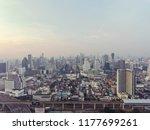bangkok city thailand urban... | Shutterstock . vector #1177699261