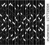 seamless parallelogram random... | Shutterstock .eps vector #1177725334