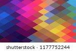 geometric design  mosaic ... | Shutterstock .eps vector #1177752244