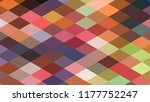 geometric design  mosaic ... | Shutterstock .eps vector #1177752247