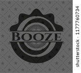 booze realistic black emblem | Shutterstock .eps vector #1177760734