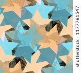 seamless pattern urban design.... | Shutterstock . vector #1177761547