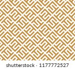 abstract geometric pattern with ... | Shutterstock .eps vector #1177772527
