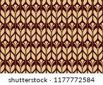 flower geometric pattern.... | Shutterstock .eps vector #1177772584