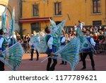ferrara  italy   9 september... | Shutterstock . vector #1177789621