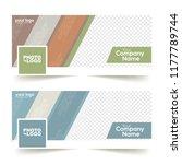 social media banner or cover... | Shutterstock .eps vector #1177789744