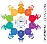 business presentation concept... | Shutterstock .eps vector #1177794781