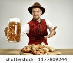 germany  bavaria  upper bavaria.... | Shutterstock . vector #1177809244
