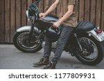 Handsome Rider Biker Guy...