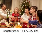 holidays and celebration... | Shutterstock . vector #1177827121