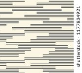 seamless chaotic stripe... | Shutterstock .eps vector #1177834921