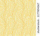hand drawn pattern with... | Shutterstock . vector #1177854367