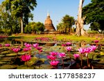wat chana songkhram in ...   Shutterstock . vector #1177858237